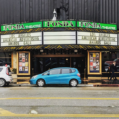 American Advertising Awards were held at the Fonda Theatre in downtown Los Angeles
