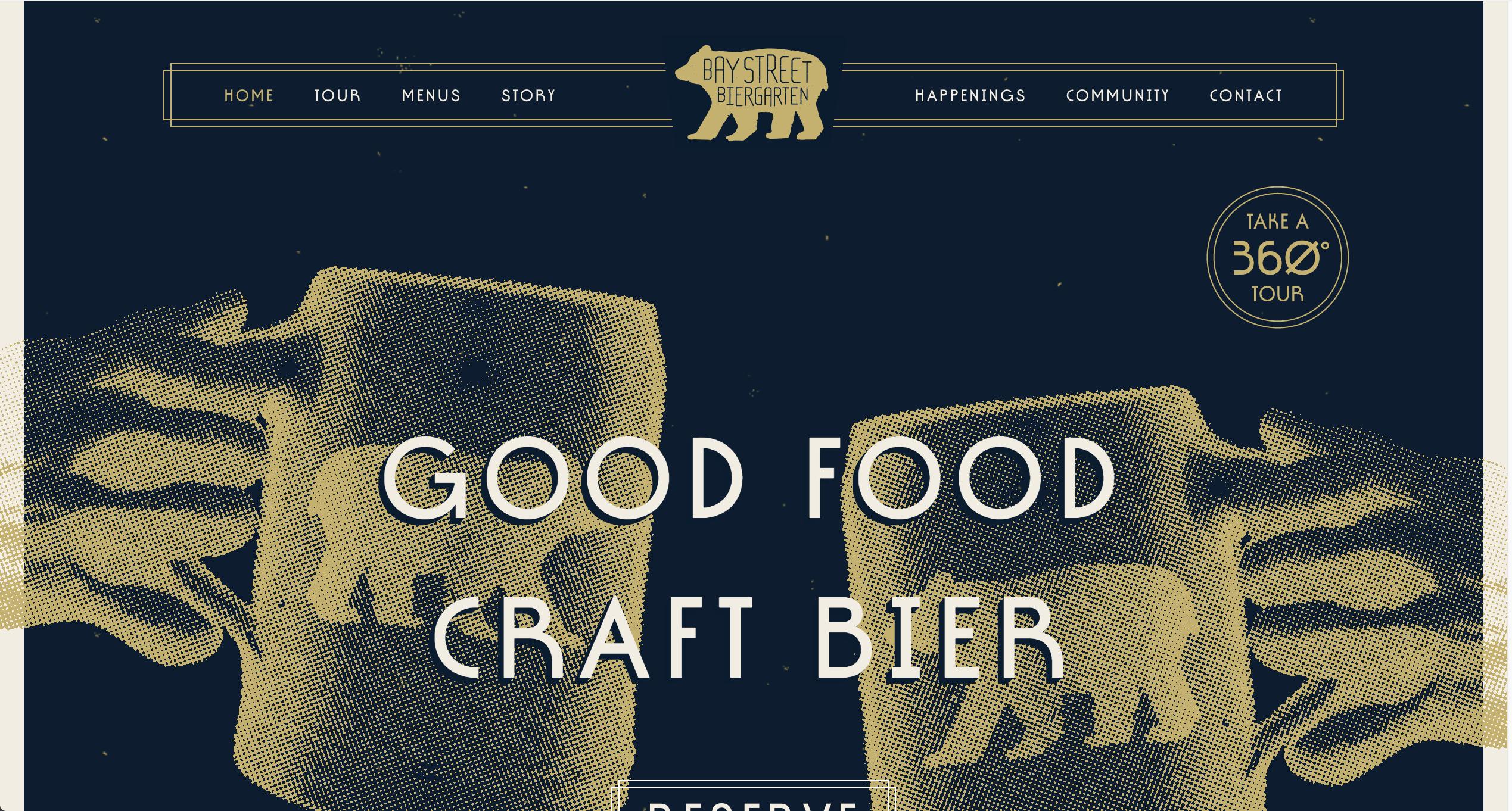Bay Street Homepage