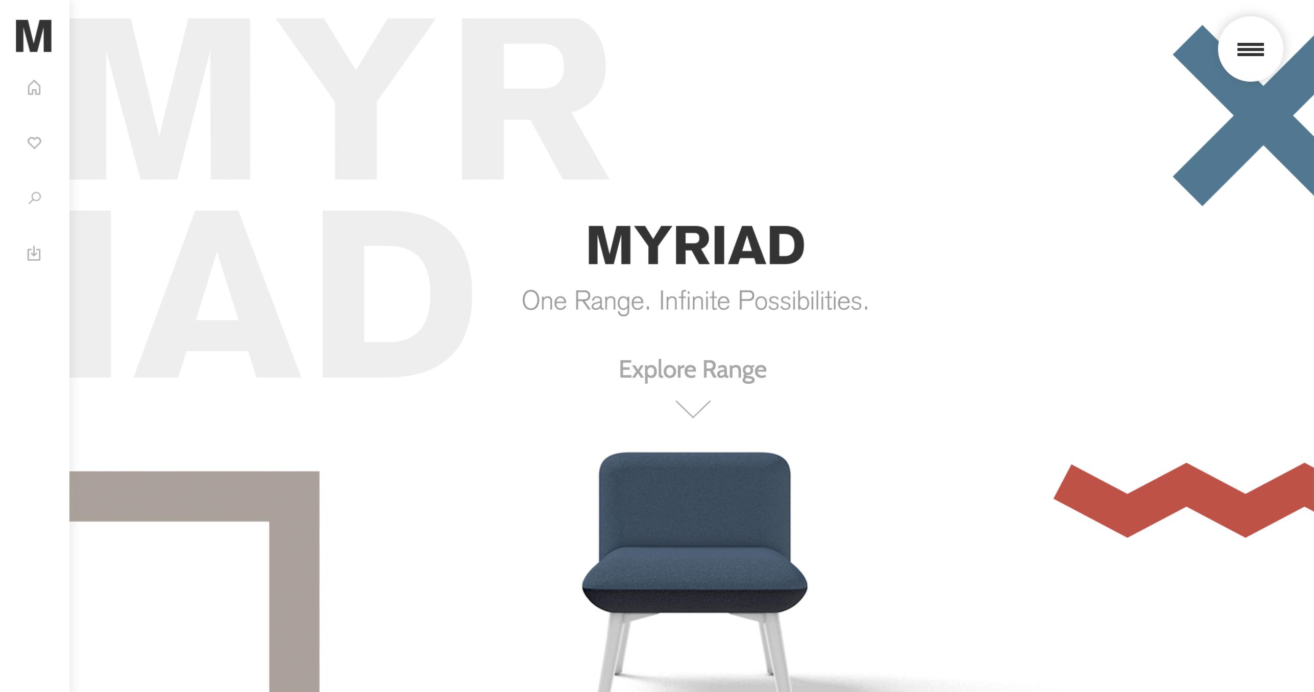Myriad Homepage