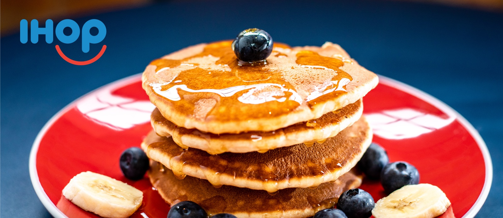 Picture of pancakes for IHOP's viral outrage marketing campaign stunt.